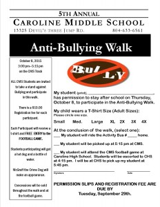Anti-Bullying Walk Invitation.2015-2016 (1)